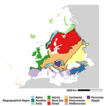 A grid-based map for the Biogeographical ...